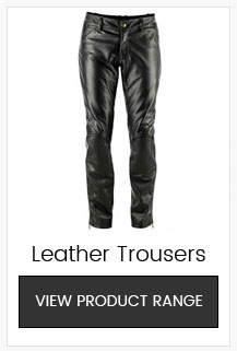 Belstaff Mens Leather Motorcycle Trousers