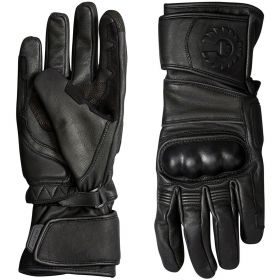 Belstaff Hesketh Leather Gloves Black