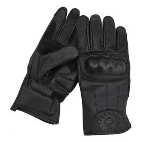 Belstaff Sprite Leather Gloves Black