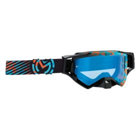 Moose Racing XCR Goggle Camo Blue / Orange