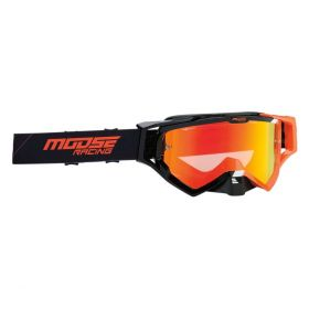 Moose Racing XCR Hatch Goggle Black / Orange