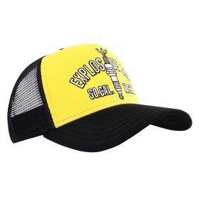 Rokker Explosive Shit Trucker Cap Yellow / Black