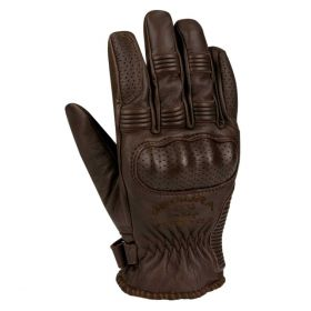 Segura Cassidy Leather Gloves Brown