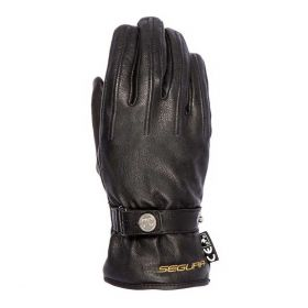 Segura Chelsea Leather Gloves Black