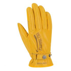 Segura Cox CE Leather Gloves Yellow