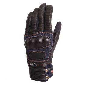 Segura Splinter Leather Gloves Black / Blue